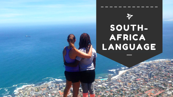 South Africa Language