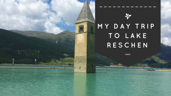 This is Lake Reschen. A lake close to the border of Switzerland and Austria. What I found makes this lake really special are the crystal clear water and the steeple sticking out in the middle of it. There used to be two villages, Grain and Reschen, which were flooded in 1950. The only reminder of the village of Grain, which was destroyed completely, is the church's steeple.
